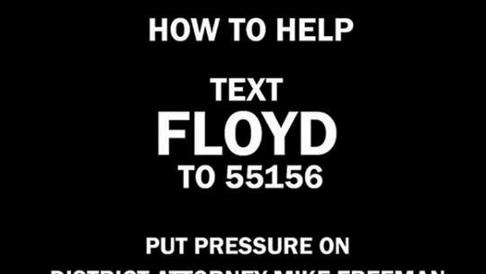 Dukungan Para Selebriti Dunia untuk George Floyd