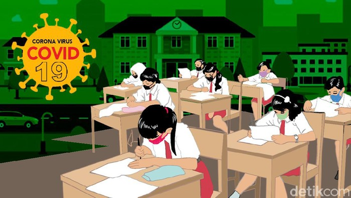 Pemerintah Susun Skb 4 Menteri Atur Sekolah Yang Bisa Kembali Dibuka