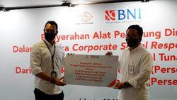 BNI Siapkan APD untuk Petugas Pos Penyalur Bantuan Sosial Tunai