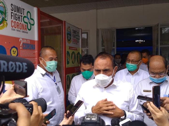 Gubernur Sumut Edy Rahmayadi (Datuk Haris-detikcom)