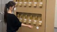 Unik! Di Jepang Ada Vending Machine yang Terbuat dari Kardus