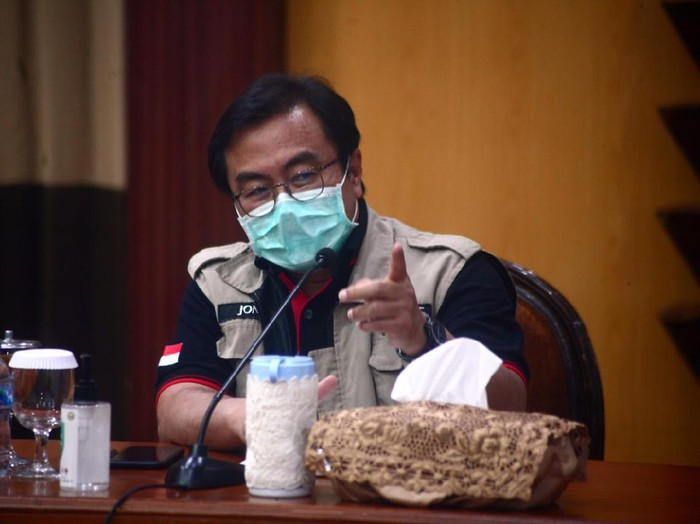 Direktur RSU dr Soetomo Surabaya, dr Joni Wahyuadi di Surabaya