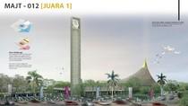 Ini Dia Desain Masjid Agung Jateng di Magelang yang Disayembarakan