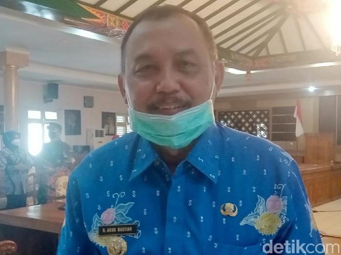 Bupati Purworejo Agus Bastian, Jumat (29/5/2020).
