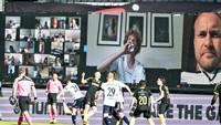 Liga Denmark Main Lagi, Suporter Nonton Lewat Zoom