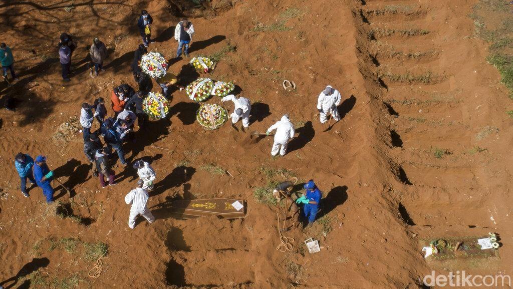 Rekor! Brasil Catat 1.349 Kematian Pasien Corona dalam Sehari