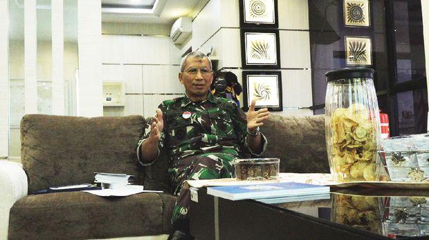 Kepala Pusat Hidrologi dan Oceanografi Laksamana Muda TNI Harjo Susmoro