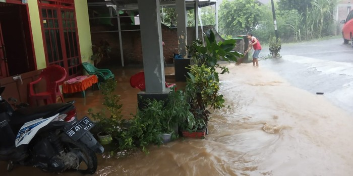Banjir terjadi di Bengkulu (Hery-detikcom)
