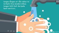 Di era new normal sekarang ini, hand sanitizer sangat umum digunakan. Tapi hati-hati ya, berlebihan menggunakannya juga bisa berakibat kulit jadi kering.