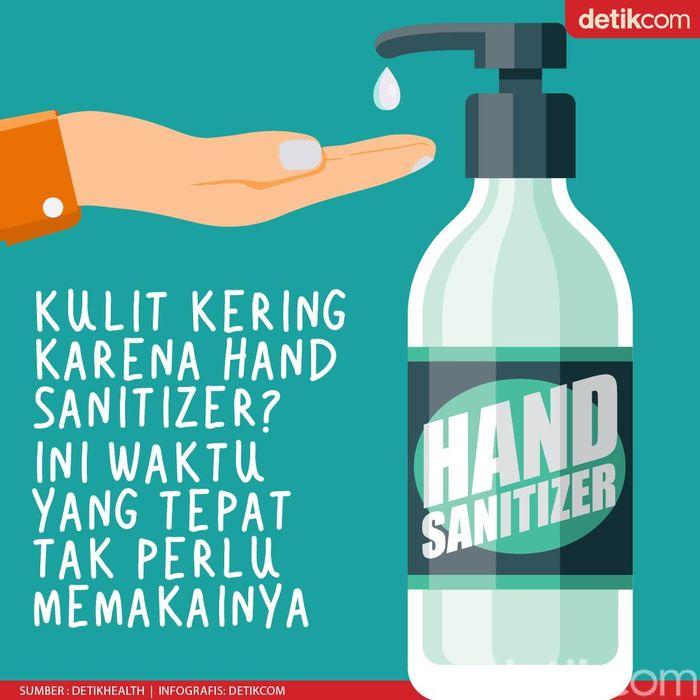 agar tak kering karena keseringan pakai hand sanitizer