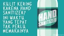 Tips Agar Kulit Tak Kering karena Keseringan Pakai Hand Sanitizer