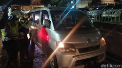 Bawa Pemudik Cianjur Tanpa SIKM ke Jakarta, Minibus Diputar Balik