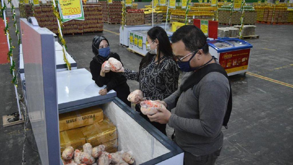Di Tengah Kenaikan Daging Ayam, Lumbung Pangan Jatim Tawarkan Harga Miring