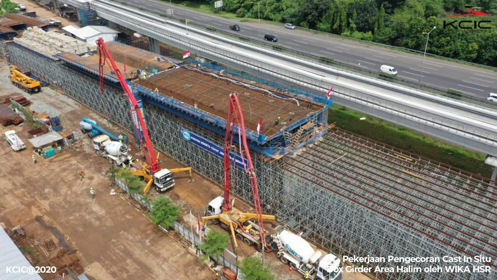 Proyek Kereta Cepat JKT-BDG Jalan di Tengah Pandemi, Pekerja Aman?
