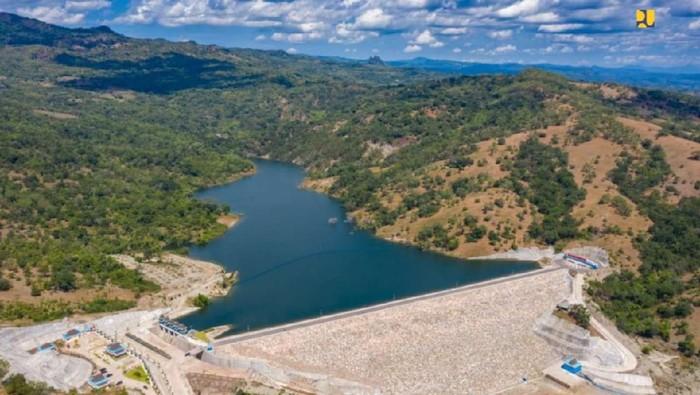 Infrastruktur penampung air: Bendungan, Waduk, Embung