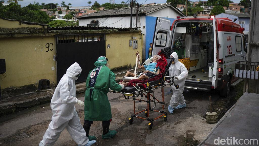 Brasil Dapat Bantuan 2 Juta Obat Hidrokolorokuin dari AS