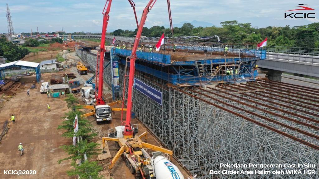 Lagi! Proyek Kereta Cepat JKT-BDG Jadi Biang Kerok Banjir di Tol