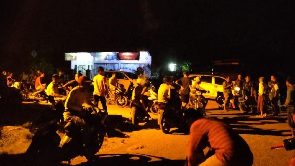 Warga Jambi Sempat Blokir Jalinsum, Protes Tersangka Tewas Saat Penangkapan
