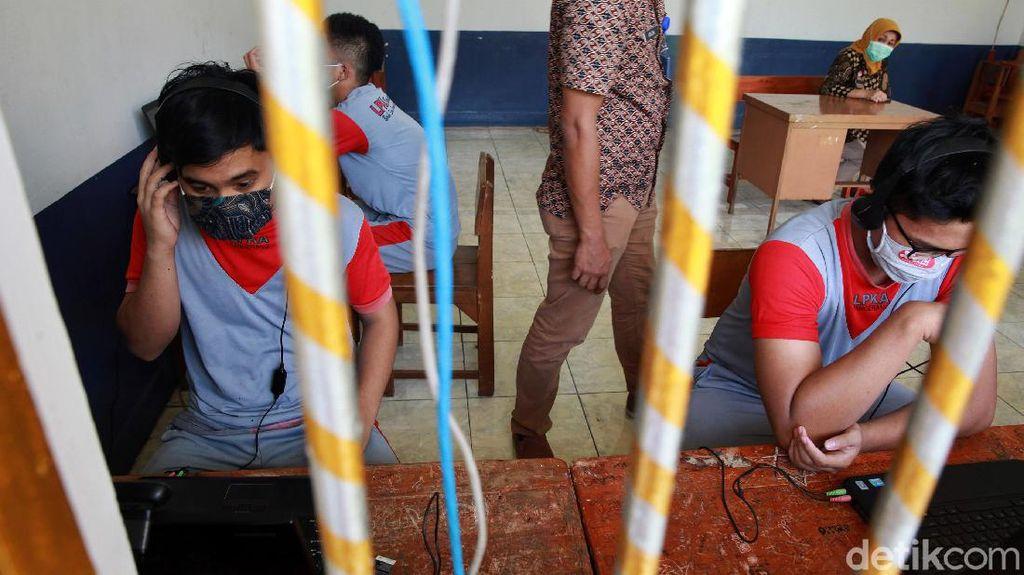 Belum Bisa Dijenguk Keluarga, Lapas Anak Fasilitasi Kunjungan Virtual
