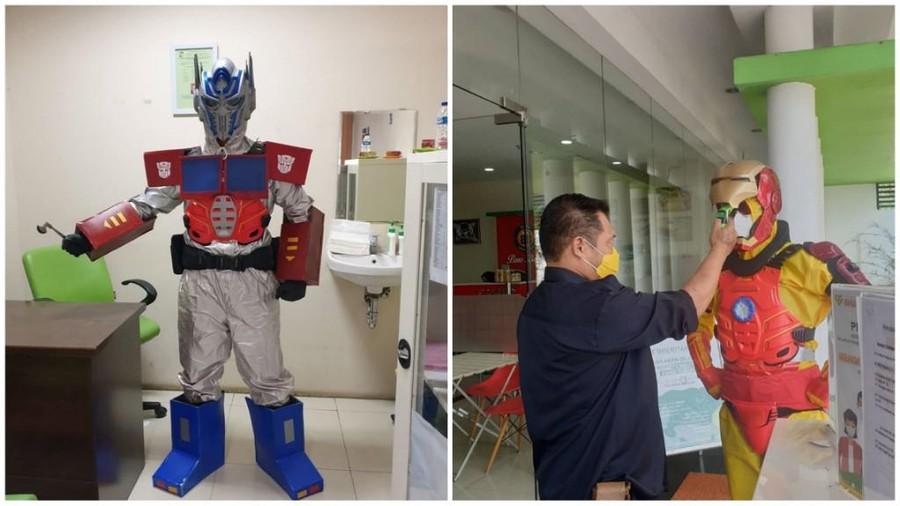 Viral APD Superhero