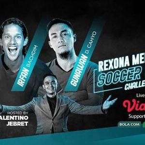 Sengit! Gunawan-Irfan Bachdim Adu Skill di Laga Madrid Vs Man City