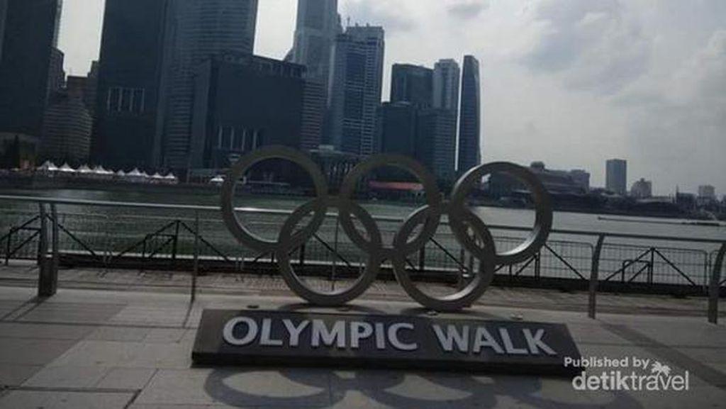 Ini Olympic Walk di Singapura, Tahu?