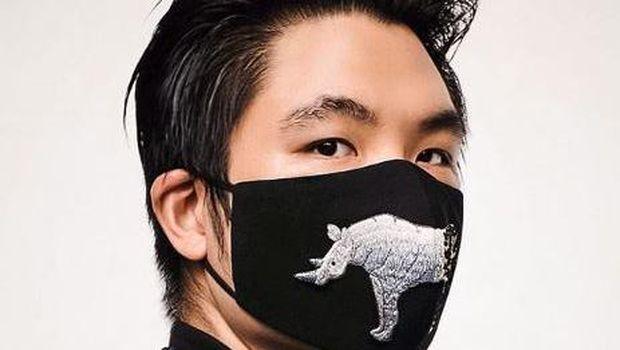 Masker desainer oleh Hyan tjen (Instagram Hyantjen)