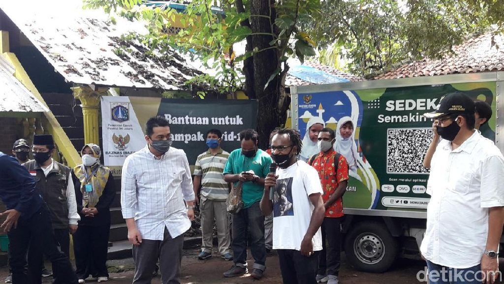 Bertemu Wagub DKI, Mahasiswa Papua Mengeluh Sulit Cari Indekos-Akses Internet