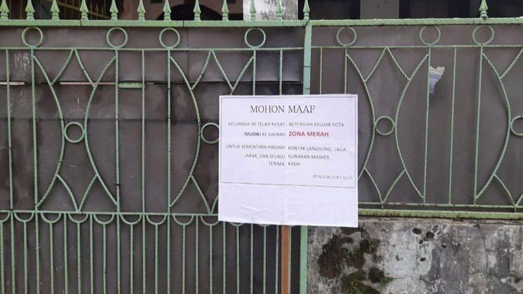 Pemilik Pulang dari Karawang, Rumah di Bandung Sempat Ditandai Zona Merah