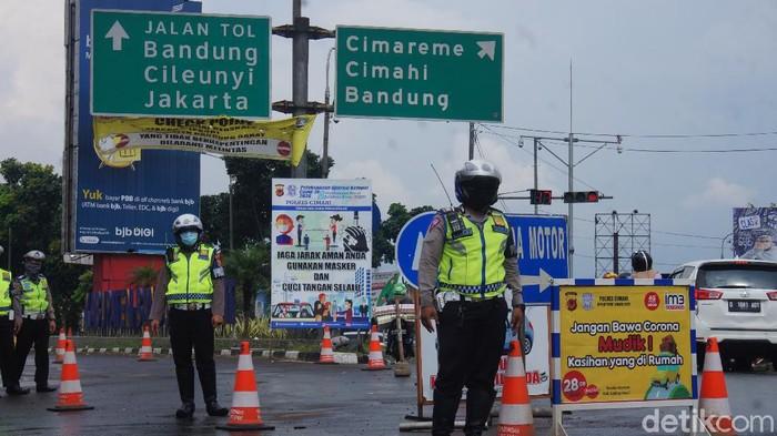 Pengendara luar kota tanpa SIKM akan diputarbalikan saat ke Cimahi-KBB