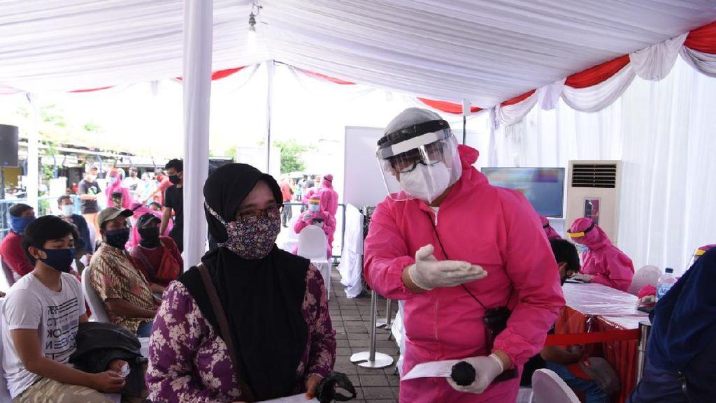 Zona Merah di Surabaya jadi Sasaran Rapid Test Massal