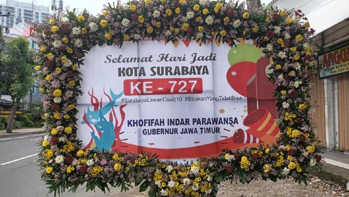 Hentikan Perang Dingin soal Mobil PCR, Gubernur Ucapkan HUT Kota Surabaya