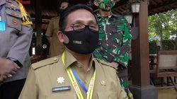 Jl Nani Wartabone-Bundaran Saronde Gorontalo Jadi Kawasan Disiplin New Normal