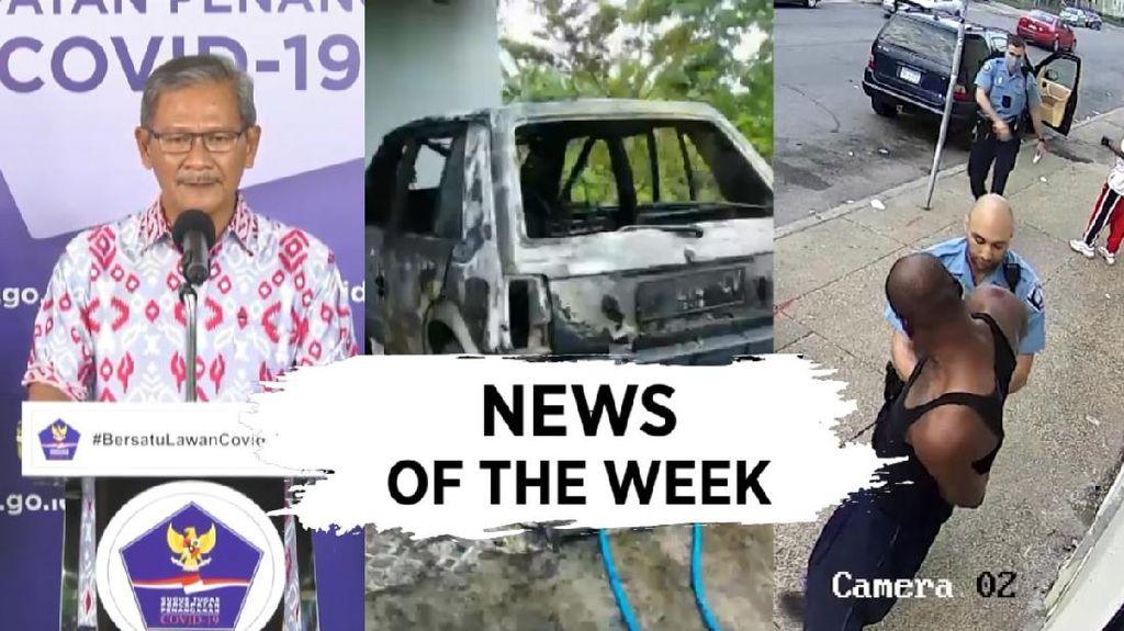 News Of The Week: Corona di RI Tembus 25 Ribu, Minneapolis Mencekam