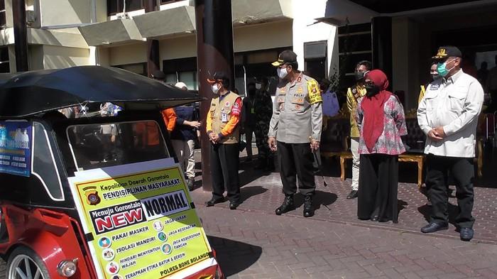Bentor Sosialisasikan New Normal di Gorontalo