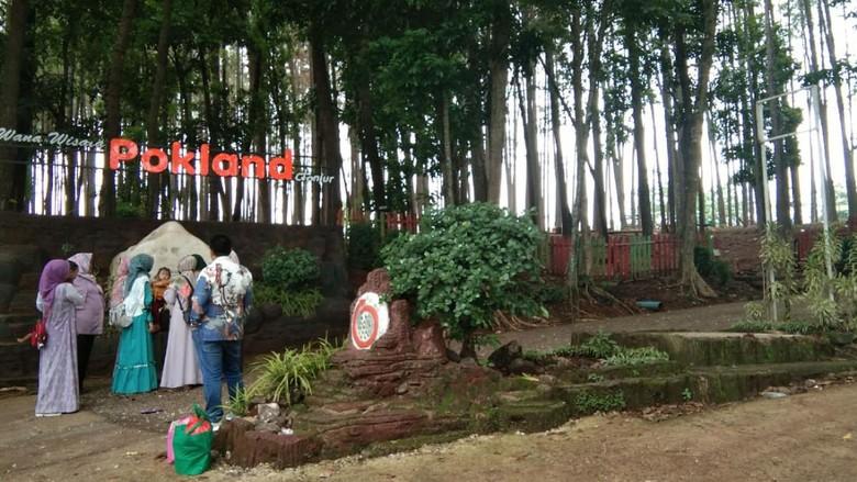 Wana Wisata Pokland salah satu destinasi wisata di Cianjur