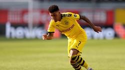 Hat-trick ke Gawang Paderborn, Sancho Ukir Sejarah