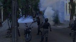 Protes Kematian George Floyd Berujung Ricuh di Brazil
