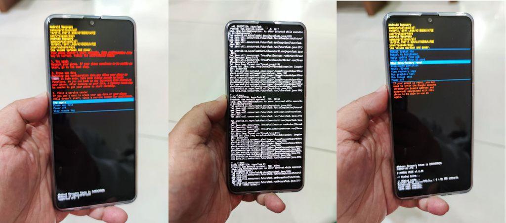 Ponsel Crash