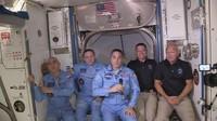 SpaceX Sukses Daratkan Astronaut NASA ke Stasiun Antariksa