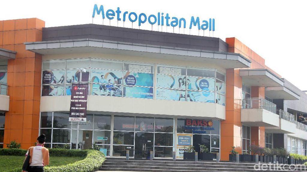 Suasana Metropolitan Mall Cileungsi yang Tutup di Tengah Pandemi
