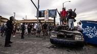 Demo Rusuh Memprotes Kematian Floyd Meluas, Kota-kota AS Berlakukan Jam Malam