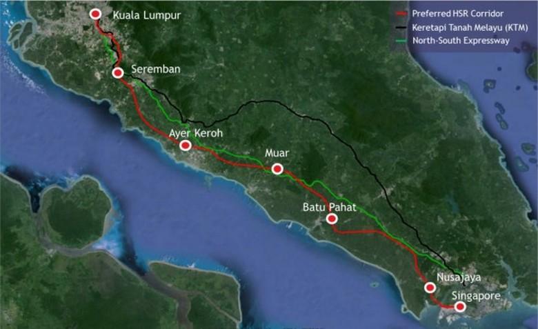 Kereta Cepat Malaysia-Singapura
