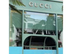 Foto: Butik Hermes Hingga Gucci Jadi Korban Vandalisme di Beverly Hills