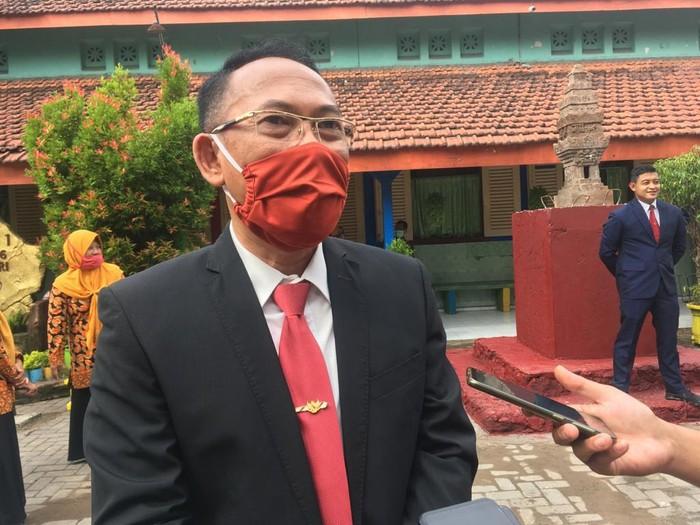 Jubir Gugus Tugas Percepatan Penanganan COVID-19 Kota Mojokerto Gaguk Tri Prasetyo
