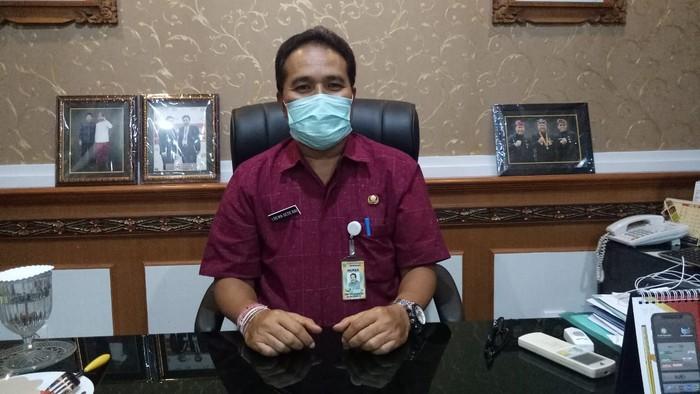 Jubir Gugus Tugas COVID-19 Kota Denpasar, I Dewa Gede Rai (Angga Riza/detikcom)