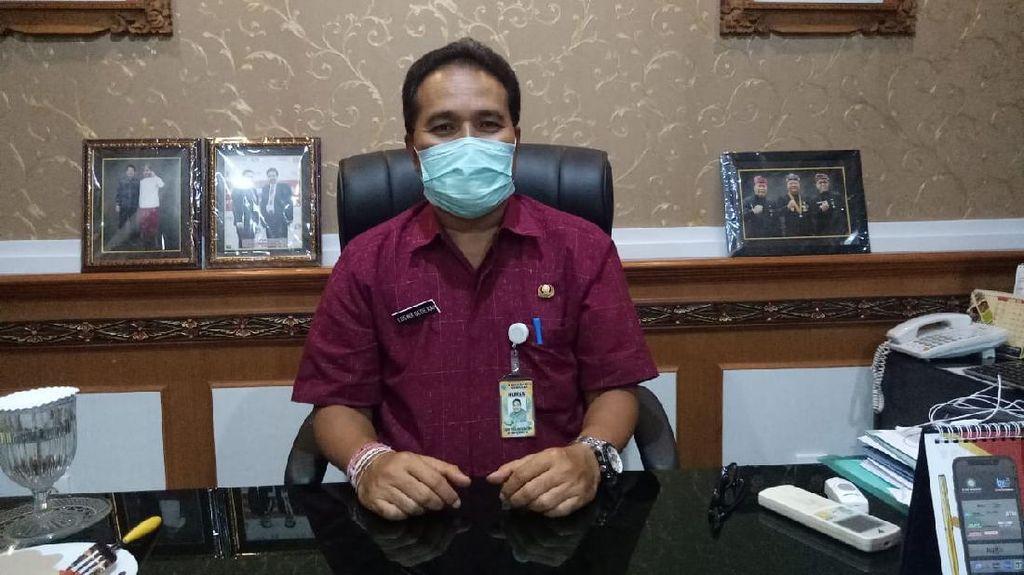 1 Pedagang di Denpasar Kena Corona, Pembatasan Akses Wilayah Diterapkan
