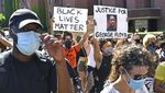 Demo Protes Kematian George Floyd Juga Terjadi di London