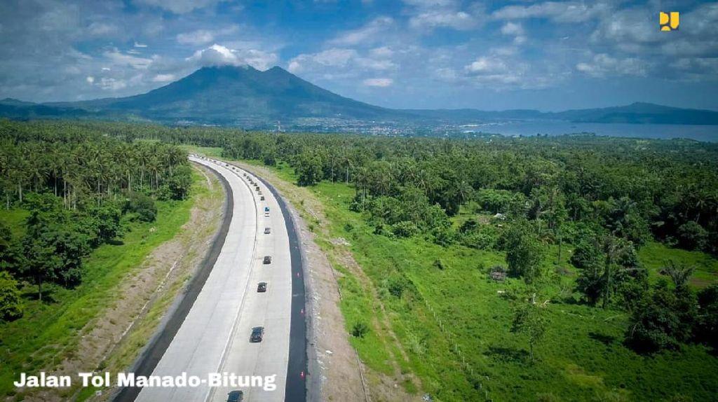 Membentang 40 Km, Manado-Bitung Jadi Tol Terpanjang di Sulawesi