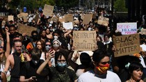 Aksi Protes Kematian George Floyd Meluas ke Pelosok Dunia